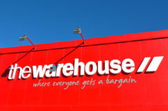 The Warehouse Group sign Royalty Free Stock Photos