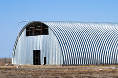 Warehouse hangar. (incomplete design Stock Photography