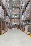 Warehouse Royalty Free Stock Photo