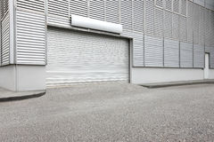 Warehouse industrial unit exterior Stock Photography