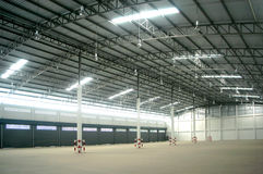 Warehouse inside Royalty Free Stock Images
