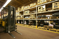Warehouse Interior Royalty Free Stock Photo