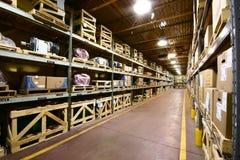 Warehouse Interior royalty free stock photos