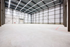 Warehouse interior Royalty Free Stock Photos
