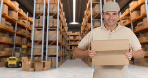 Warehouse leverans e Royaltyfri Fotografi