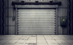 Warehouse loading dock inside Stock Photos