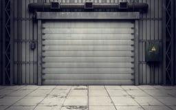Warehouse loading dock inside. Old warehouse loading dock inside Stock Photos