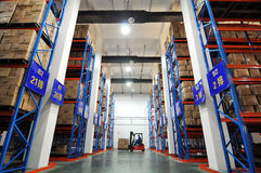 Warehouse Logistics Royalty Free Stock Image