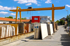 Warehouse marble Royalty Free Stock Images