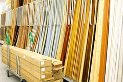 Warehouse materials Stock Photo