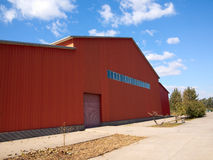 Warehouse. A new commercial warehouse for lease Stock Photography