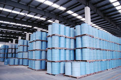 Warehouse for oil Stock Image