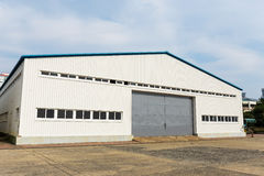 Warehouse at outdoor Stock Photo