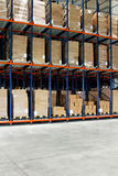 Warehouse pallets Stock Images