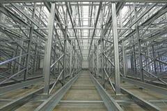 Warehouse Racks Stock Images