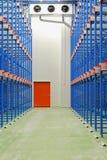 Warehouse refrigerado Imágenes de archivo libres de regalías