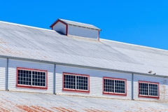 Warehouse roof royalty free stock images