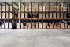 Warehouse shelf Royalty Free Stock Photos