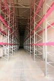 Warehouse shelves Stock Photography