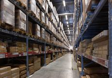Warehouse Royalty Free Stock Photos