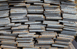 Warehouse for shipping, handling and storage of sheet metal Stock Images