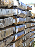 Warehouse for shipping, handling and storage of sheet metal Royalty Free Stock Image