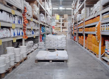 Warehouse shop Royalty Free Stock Photos