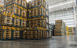 Warehouse of spare parts Royalty Free Stock Photo