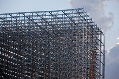 Warehouse  steel structure Stock Photography