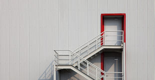 Warehouse steps Royalty Free Stock Photo