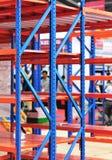 Warehouse storage shelf Royalty Free Stock Photography