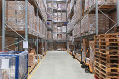 Warehouse storage stock photo