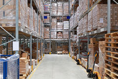 Warehouse storage Stock Image