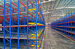 Warehouse storage systems Royalty Free Stock Photo