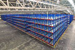 Warehouse storage systems Stock Image