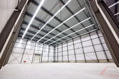 Warehouse to let stock photography