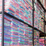 Warehouse of towel softness fluffy fiber fabric Royalty Free Stock Image