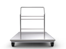 Warehouse trolley or platform trolley Stock Photography