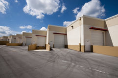 Warehouse units Royalty Free Stock Photography