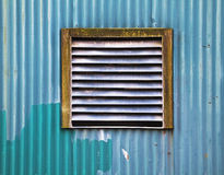 Warehouse wall Stock Photo