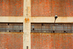 Warehouse wall Royalty Free Stock Photo
