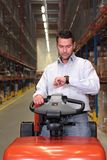 Warehouse worker Royalty Free Stock Image