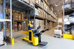 Warehouse worker Stock Photography
