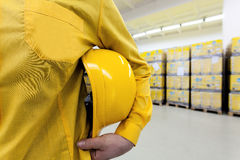 Warehouse worker Royalty Free Stock Photos