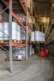 Warehouse y transportador Foto de archivo