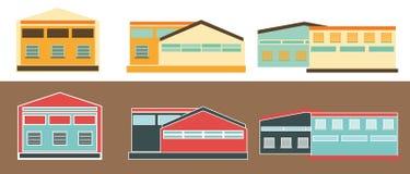 Warehouses. Royalty Free Stock Image