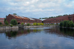 Warehouses on New Holland Island, St. Petersburg Royalty Free Stock Photos