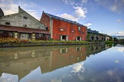 Warehouses of Otaru, Japan Royalty Free Stock Image