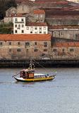 Warehouses in Porto. Porto is the home of the liquor Port. There are many  famous Port houses in Porto that distill and bottle the famous after dinner drink Stock Photos