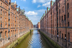 Warehouses in Speicherstadt in Hamburg, Germany Stock Image